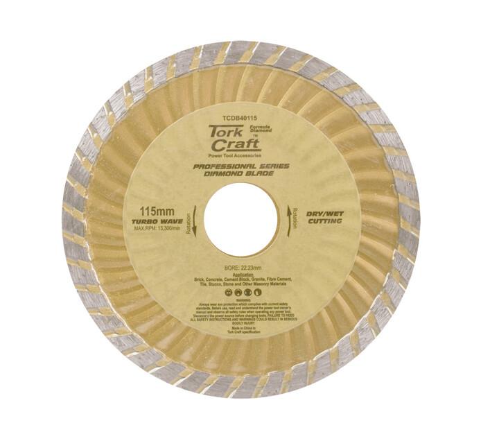 Tork Craft 115MM x 22 Diamond Cutting Disc