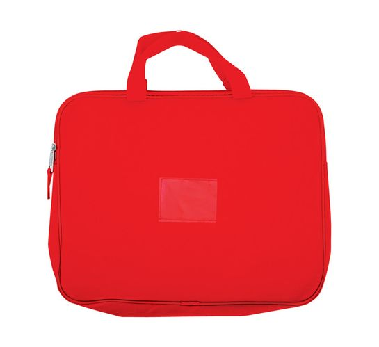 Kenzel A4 Book Bag with Handle Red Red