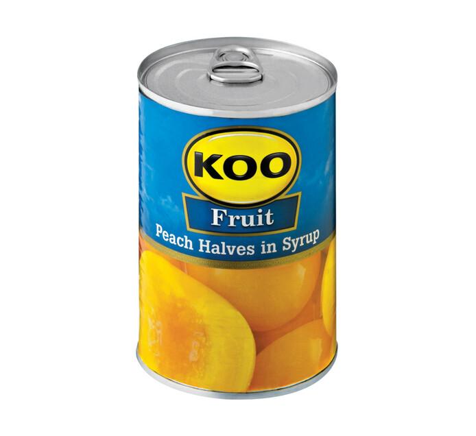 KOO Peach Halves (1 x 410g)