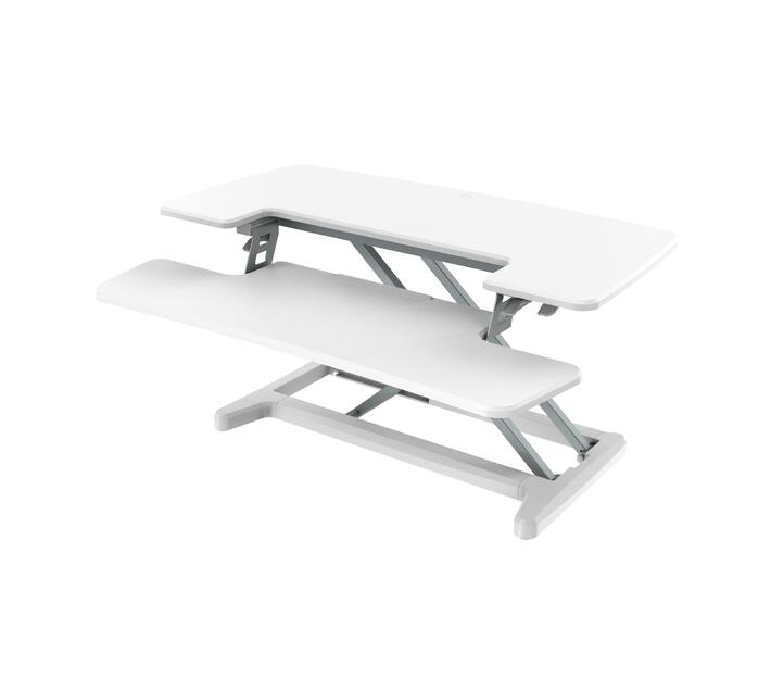 X-COVE Sit-Stand Standing Desk Converter (White)