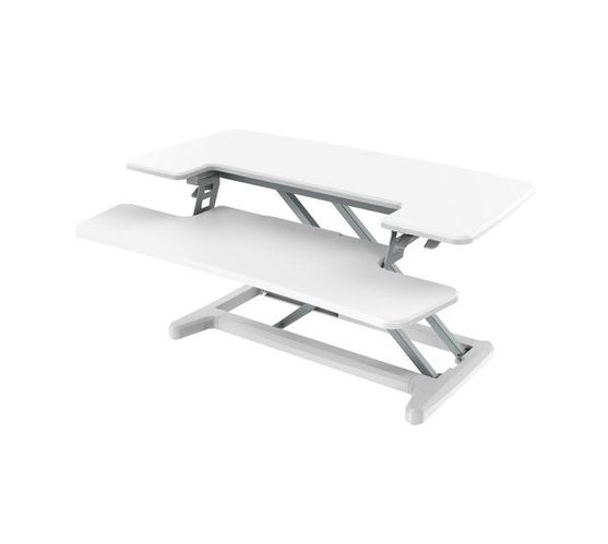 X-COVE Sit-Stand Standing Desk Converter (White)