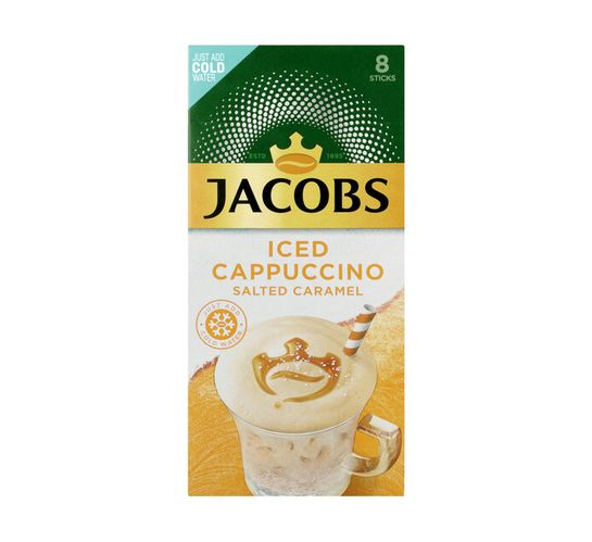 Jacobs Instant Iced Cappuccino Salted Caramel (40 x 21.3g)