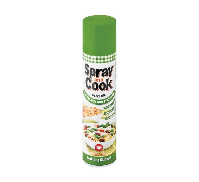 Spray&cook Non Stick Olive Oil Spray (1 x 300ml)