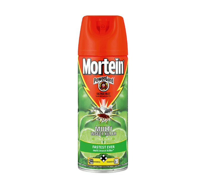 Mortein Insect Spray Citrus Burst (6 x 300ml)