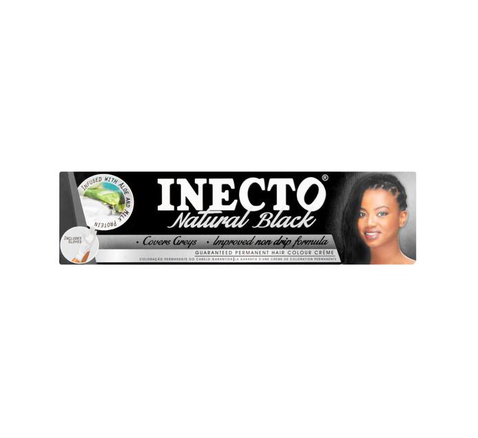 Inecto Hair Dye Natural Black (1 x 50ml)