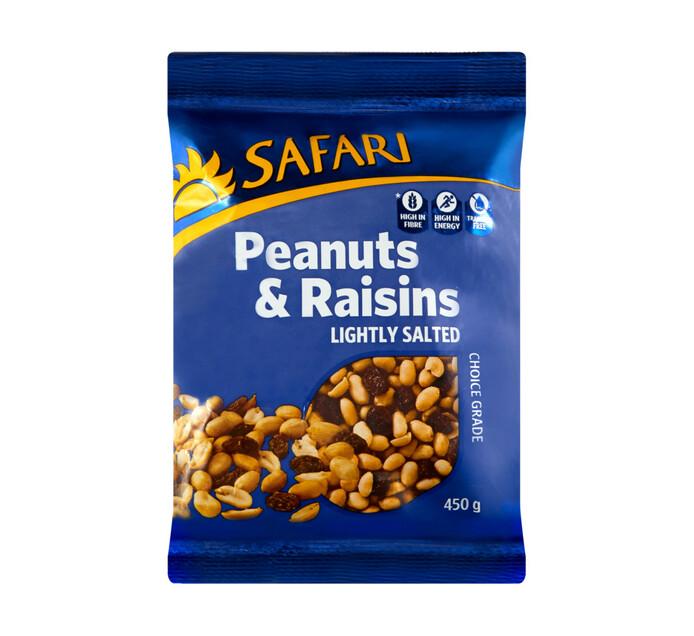 Safari Peanuts Peanuts and Raisins (1 x 450g)