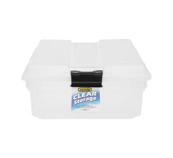 Addis 26l Clear Storage Box