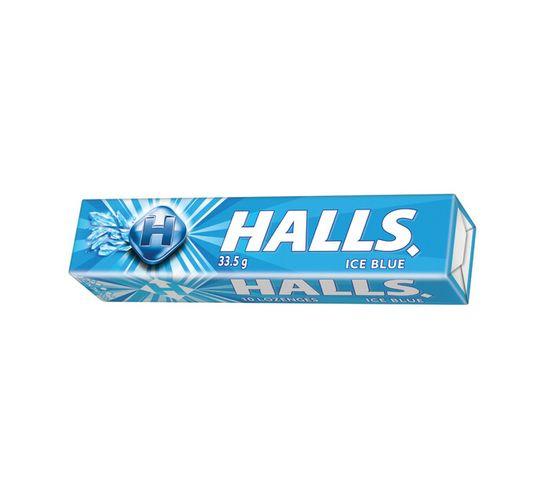 Halls Lozenges Ice Blue (33.5g x 18)