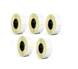 Thermal Barcode Label Paper Tape 100mmx50mm (Pack of 5)