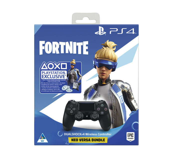 PS4 DualShock 4 Controller plus Fortnite (500 V-Bucks)