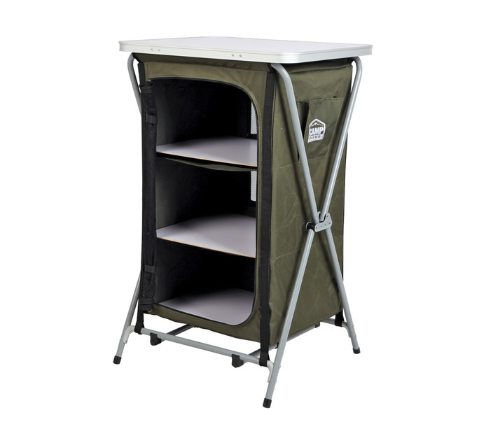 Campmaster 3-Shelf Steel Cupboard