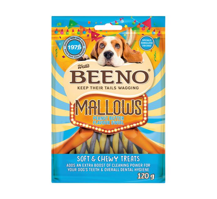 Beeno Moist Treats Rollies Peanut Butter (20 x 120g)