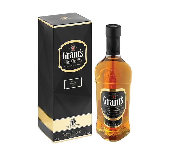 Grants Blended Select Reserve (1 x 750ml)