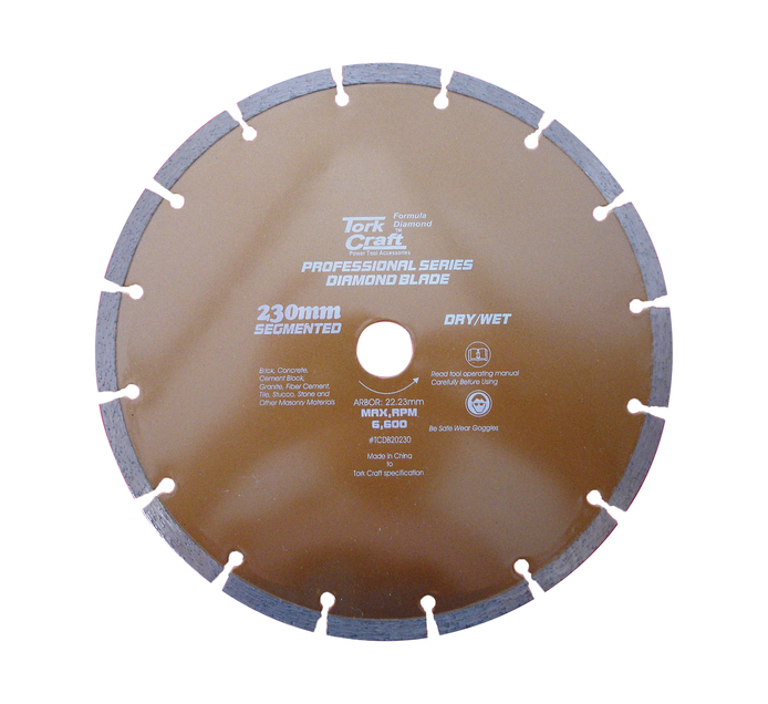Tork Craft 230MM Diamond Cutting Disc