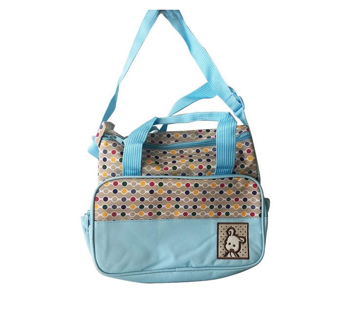 5 in 1 Baby Carrier Bag Set-Sky Blue