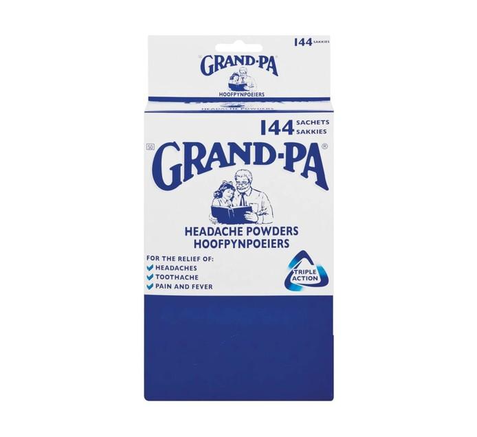 Grandpa Headache Powders Sachets Sachets (1 x 144's)
