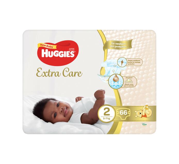 Huggies New Baby Diaper Size 2 (1 x 66's)