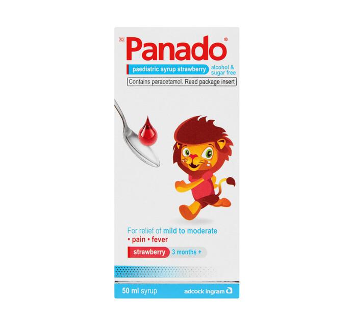 Panado Paediatric Syrup Strawberry (1 X 50ML)