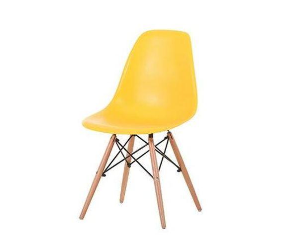 Zedo Plastic Chair - Yellow