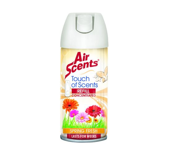 Air Scents Touch Of Scents Push Dispenser Refill Spring Fresh (100ml)