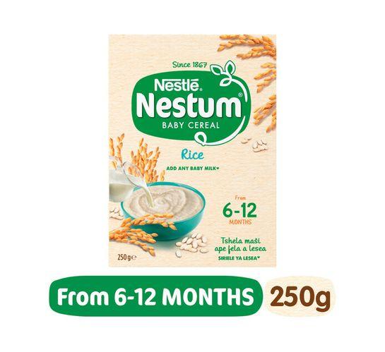 Nestle Nestum Infant Cereal Rice (6 x 250g)