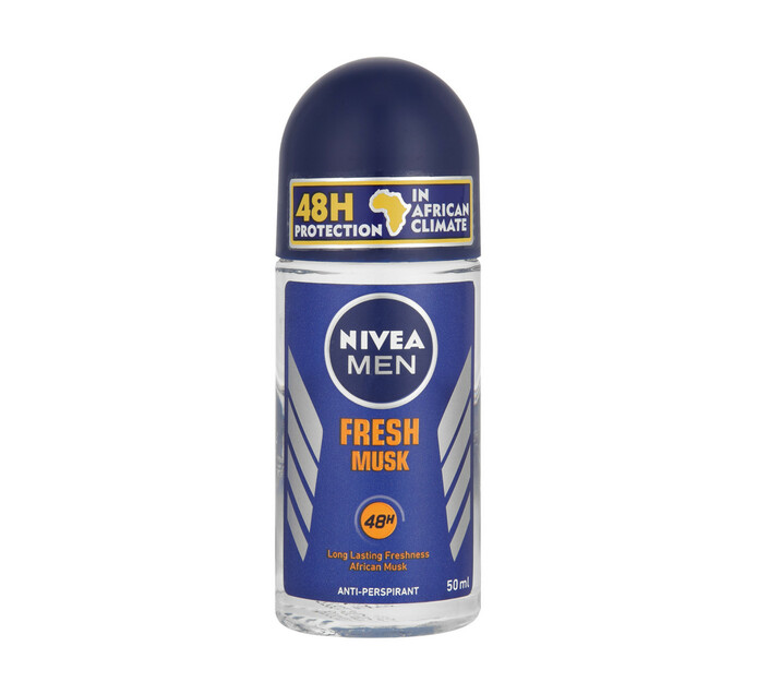 Nivea Roll-On Fresh Musk (1 x 50ml)