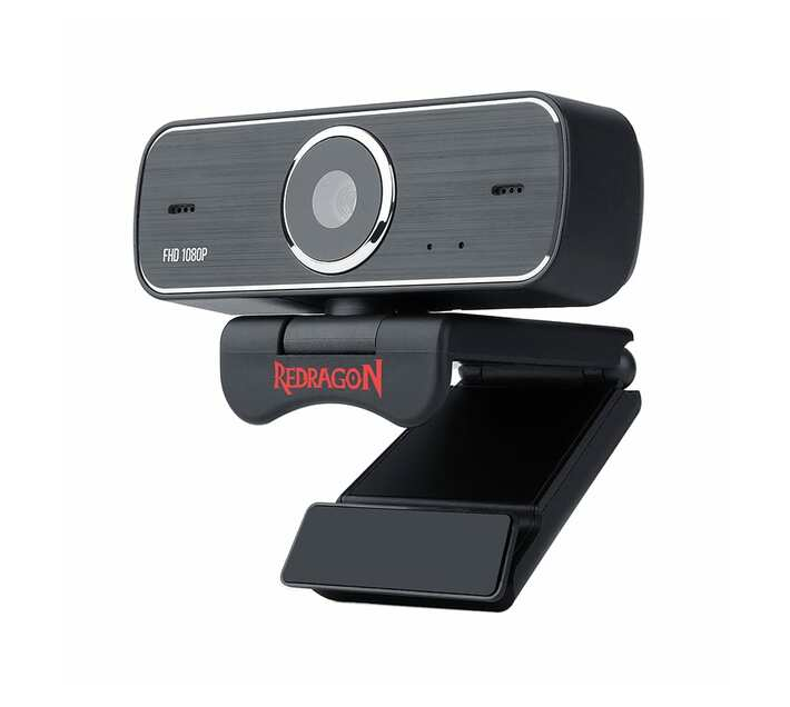 Redragon HITMAN 1080P PC Gaming Webcam – Black
