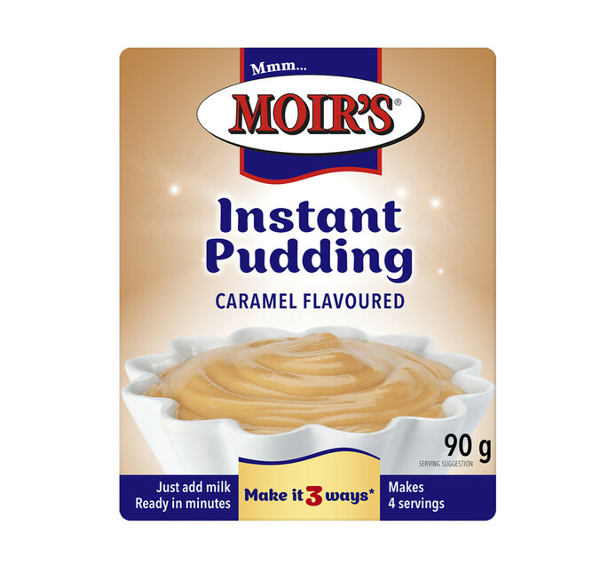 Moirs Instant Puddings Caramel (1 x 90g)