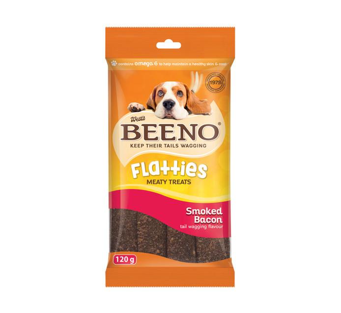 Beeno Moist Treat Flatties Smoked Bacon (1 x 120g)