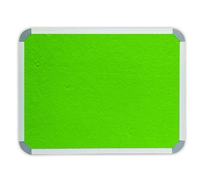 PARROT PRODUCTS Info Board (Aluminium Frame, 900*900mm, Lime Green)
