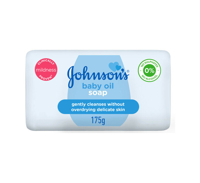 Johnsons Baby Soap Oil (1 x 175g)