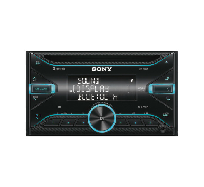 SONY 2 Din CD/USB Dual Bluetooth Receiver