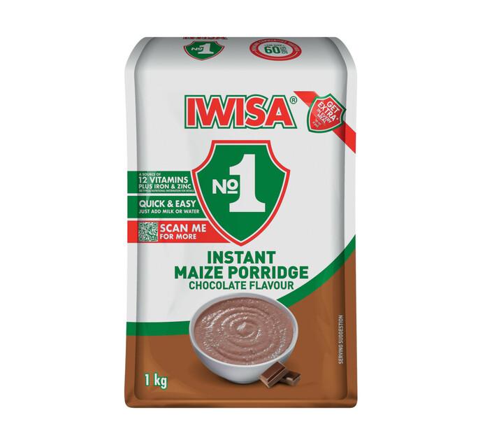 Iwisa Instant Breakfast Porridge Chocolate (10 x 1kg)