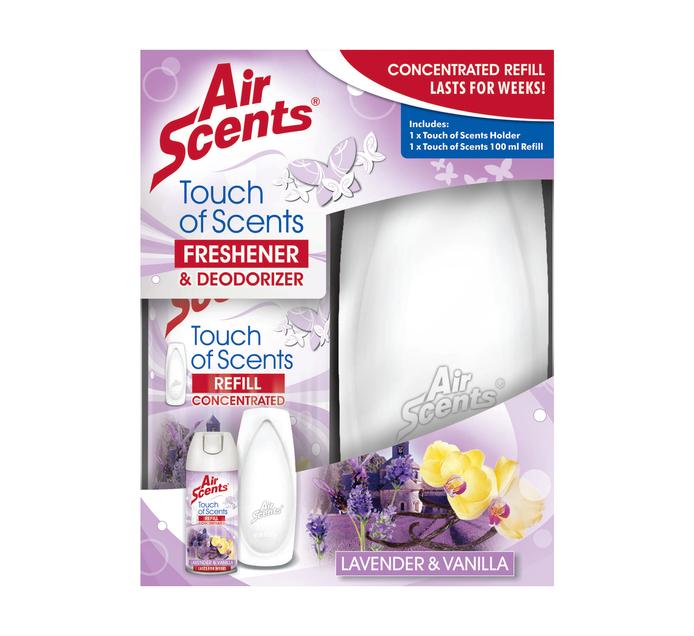 Air Scents Air Freshener Dispenser & Refill Lavender&Vanilla (1 x 1)