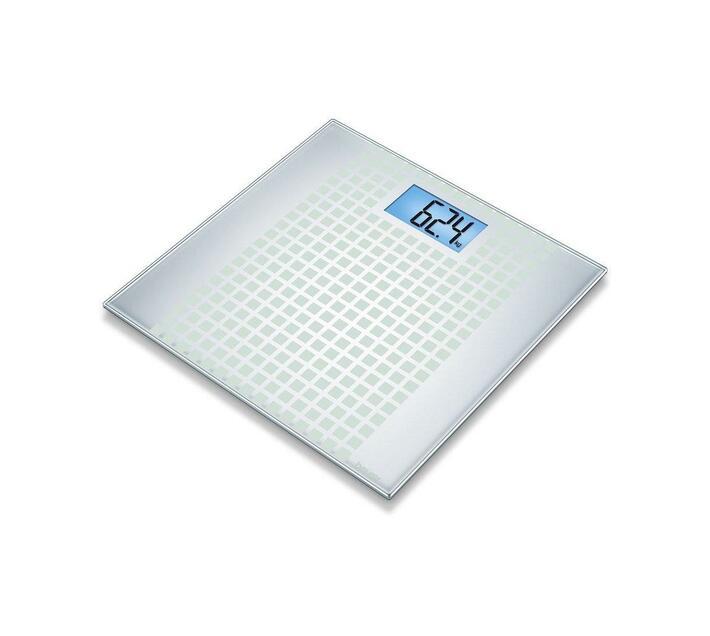 Beurer GS 206 Glass Bathroom Scale Squares