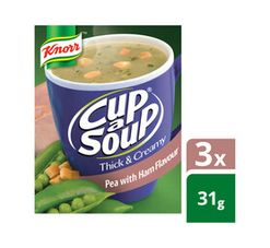Knorr Cup A Soup Thick N Creamy Pea & Ham (1 x 10)