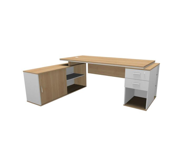 Elite Platinum L-combo Desk