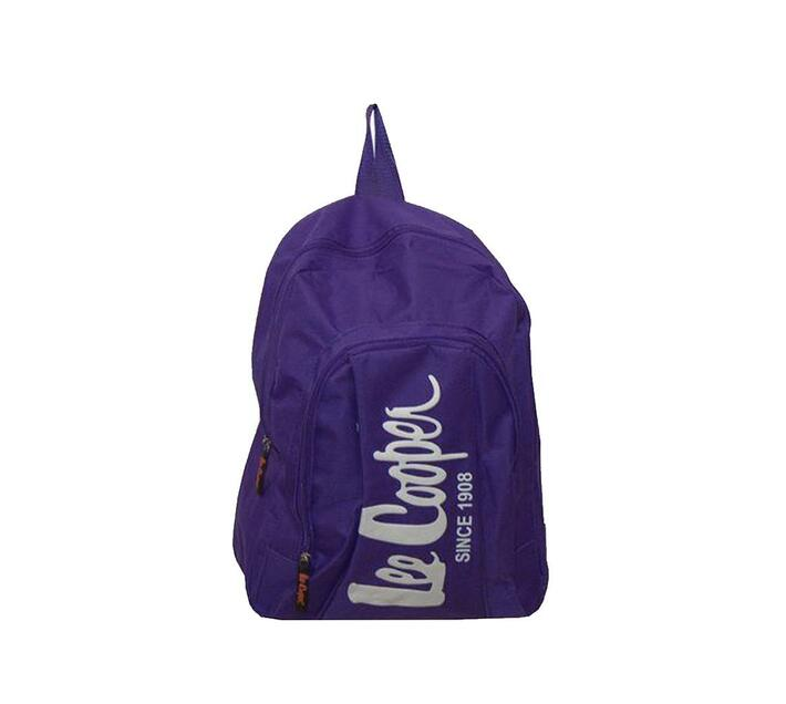 Lee Cooper Legend Backpack Small -Purple