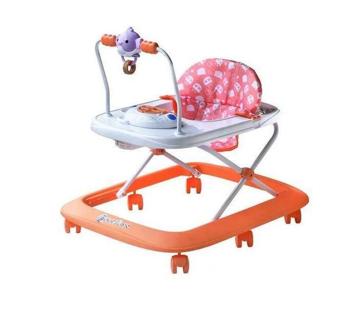 Explore and More Activity Centre Baby Walker - Orange Peach