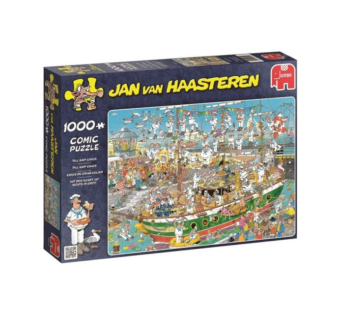 Jumbo Tall Ship Chaos Puzzle 1000 Piece