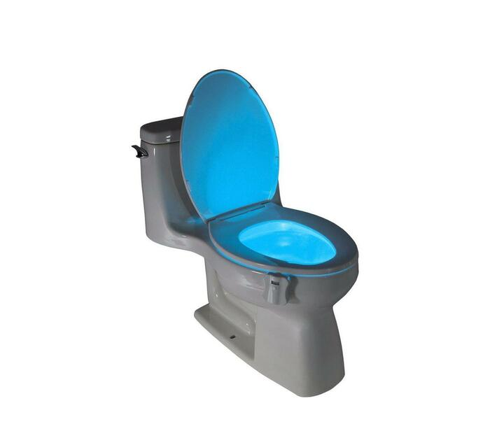 Motion Sensor 8 colour LED Toilet Night Light