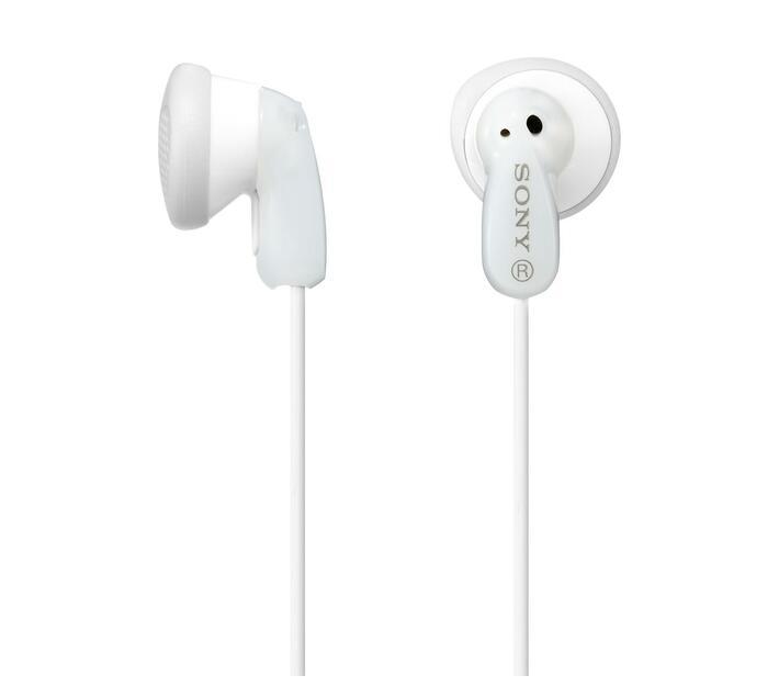 Sony MDR-E9LP In-Ear Headphones - White