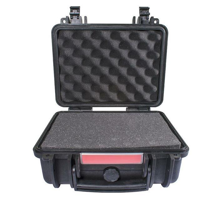 Hard Case 310x275x155mm Od With Foam Black Water & Dust Proof (272012)