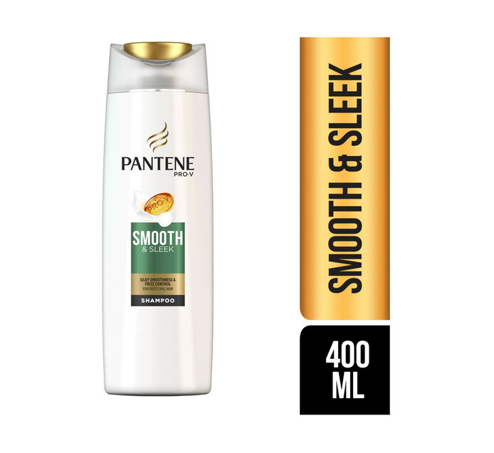Pantene Pro V Shampoo Smooth & Slick (1 x 400ml)