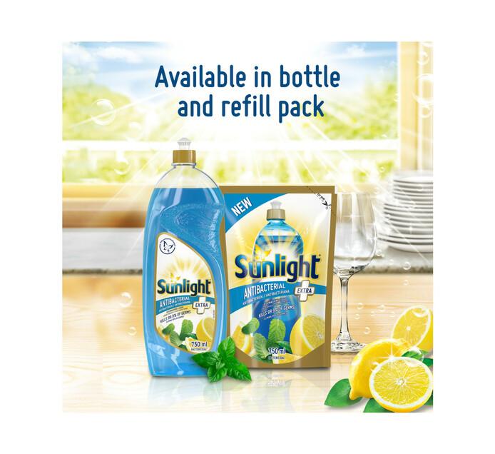 Sunlight Extra Dishwashing Liquid Anti-Bacterial (1 x 750ml)