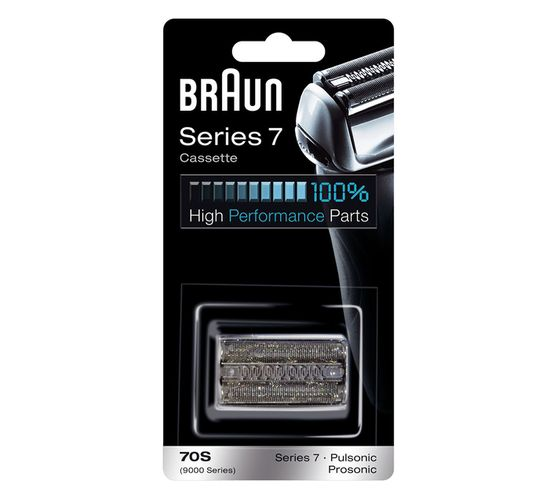 Braun 70S Head Replacement Part (silver)