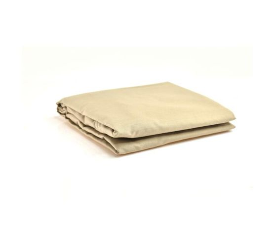 STANDARD CAMP COT FITTED SHEET - NATURAL
