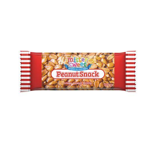 Mister Sweet Snack Bar Peanut (30 x 100g)