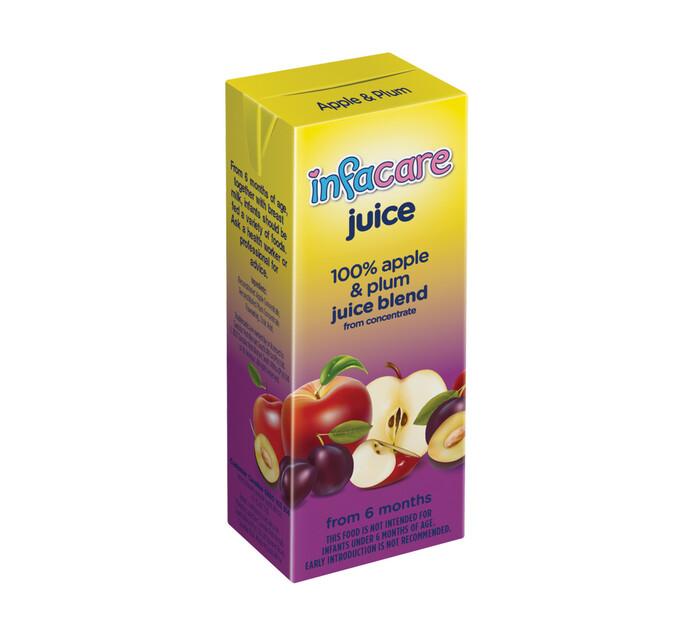 Infacare Juice Apple & Plum (6 x 200 ml)