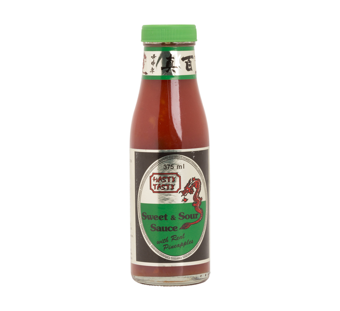 HASTY TASTY Sweet & Sour Sauce with Pineapple (1  x 375ml)